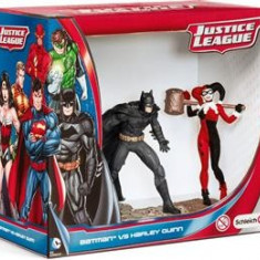 Set Figurine Schleich Batman Vs. Harley Quinn Scenery Pack