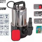 Pompa submersibila inox 550W, Raider RD-WP12 - Pompa gradina