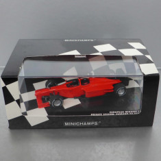 European Minardi F1X2 Formula 1 Private Session 2002, Minichamps, 1/43 - Macheta auto