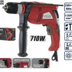 Masina de gaurit Raider Power Tools cu percutie 710W, Raider RD-ID34, Retea