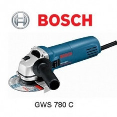 Polizor unghiular 780W, Bosch GWS 780 C