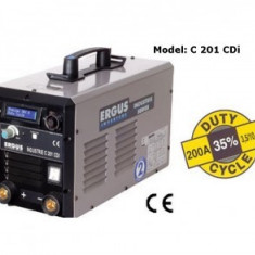 Aparat sudura inverter Long Arc, 200A, Ergus C201 CDI - Invertor sudura