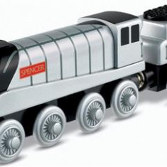 Jucarie Thomas And Friends Wooden Railway Spencer Engine - Trenulet