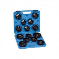 Set chei pentru filtru ulei 15 buc., Fervi, in valiza