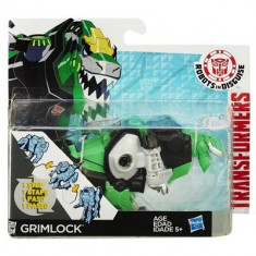 Jucarie Transformers Robots In Disguise One-Step Warriors Grimlock - Roboti de jucarie Hasbro