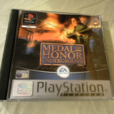 Medal of Honor Underground playstation one, PS1, alte sute de jocuri
