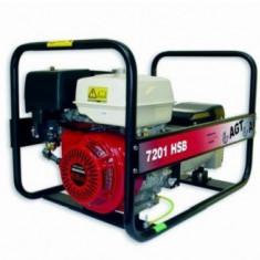 Generator Honda AGT 7201 HSBE TTL - 6.6kVA - PORNIRE ELECTRICA - Generator curent Agt, Generatoare cu automatizare