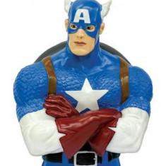 Cutie Pentru Bani Marvel Bust Bank Captain America Action Figures - Pusculita copii