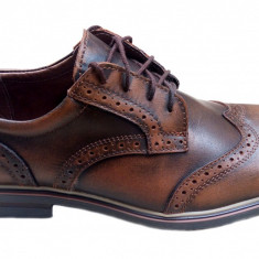Pantofi barbati casual - eleganti din piele naturala - Oxford 1 - Pantof barbat, Marime: 39, 40, 41, 42, 43, 44