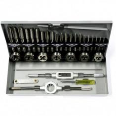 Trusa tarozi filiere STREND PRO SX1033, HSS, 33 piese, M3-M12 - Cheie mecanica