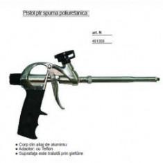 Pistol teflonat pentru spuma poliuretanica, TopStrong - Pistol cu silicon