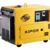 Generator de curent diesel Kipor KDE 6700 TA, 4.5kVA - SUPER SILENT - Generator curent