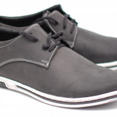 Pantofi barbati sport - casual din piele naturala - Fabricati in Romania Cod: PHETN - Pantof barbat, Marime: 39, 40, 41, 42, 43, 44