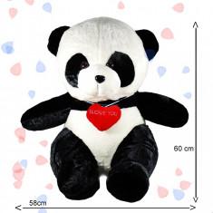 Urs panda de dimensiuni mari, jucarie din plus 60 cm - Jucarii plus