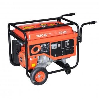 Generator benzina monofazat 5kW, Yato YT-85440 foto mare