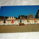 Cp plaja umbrele case GERMANIA - 2+1 gratis - RBK24509 - Carte postala tematica, Necirculata, Fotografie