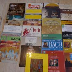 Colectie viniluri muzica clasica, cu lista. Vand si separat, vedeti descrierea!