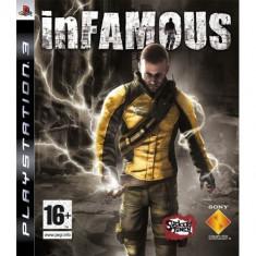 Infamous Ps3 - Jocuri PS3 Sony, Actiune, 16+