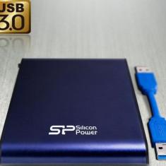 HDD Extern Silicon Power Armor A80 2TB USB 3.0 2.5inch Albastru