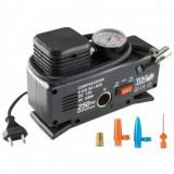 Compresor de aer pentru auto Sal 90786, presiune max 18 Bar, alimentare 220V/12V