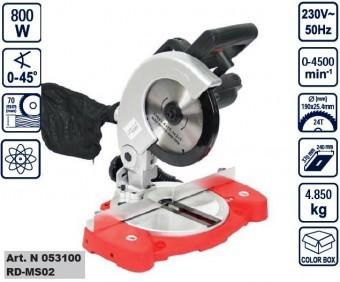 Ferastrau circular fix 800W, Raider RD-MS02 foto mare