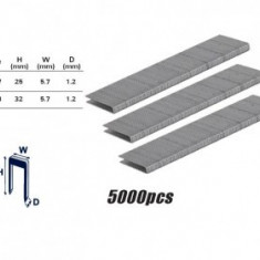 Set capse pentru pistol pneumatic RD-AS02 32x5,7x1,2mm, Raider 511318