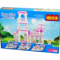 Jucarie constructiva Castel pentru fetite 254 piese - Beautiful Princess
