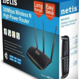 Router Wireless Netis WF2533 300Mbps High Power, Porturi LAN: 4