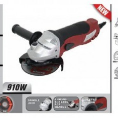 Polizor Raider Power Tools unghiular 125mm, 910W, Raider RDP-AG43