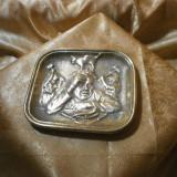Scrumiera bronz masiv, epoca Victoriana sec 19, colectie, cadou