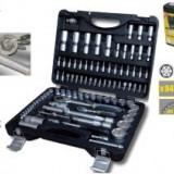 Trusa 94Buc tubulare si accesorii, TopMaster - Trusa scule auto