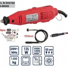 Mini Polizor Raider Power Tools drept 135W, Raider RD-MG05