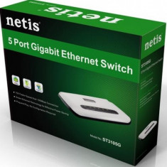 Switch Netis 5-Port Gigabit ST3105G
