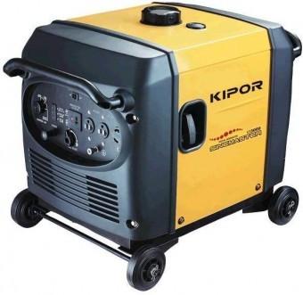 Generator digital tip inverter, KIPOR IG3000, 2.8kVA foto mare