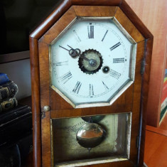 Ceas semineu cu pendul model american - Ceas de semineu