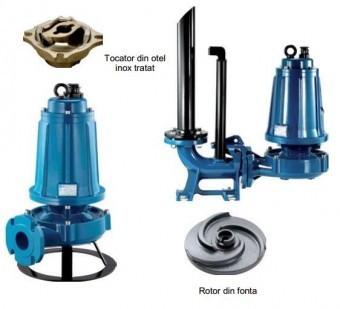 Pompa submersibila cu tocator Pentax DTRT1000, 7.5kW foto