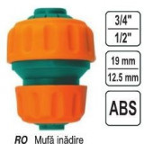 "Mufa innadire reductie 1/2-3/4"", Vorel 89234"""