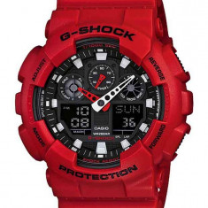 Casio GA-100B-4ACR  G-Shock ceas barbati nou 100% original. Garantie.