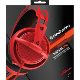 Casti Gaming Steelseries Siberia 200 Forged Red