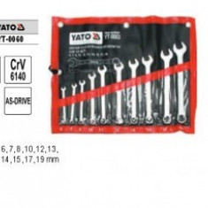 Set chei combinate 6-19mm YT-0060 - Cheie combinata