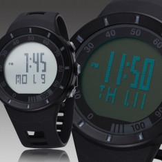 Ceas sport digital OHSEN Army Black (O1) - Ceas barbatesc, Quartz, Silicon, Alarma, Electronic