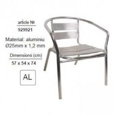 Scaun din aluminiu, TopGarden 929921 - Scaun gradina
