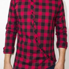 Camasa tip Zara - camasa slim fit camasa primavara toamna camasa barbat cod 102