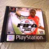 Fifa 2002 playstation one, PS1, alte sute de jocuri Electronic Arts, Sporturi, 3+, Multiplayer