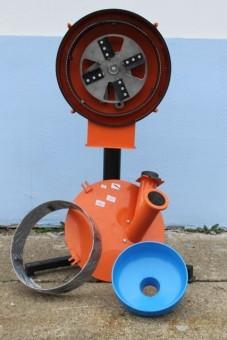 MOARA DE MACINAT CEREALE MMC–03, 250kG/H foto mare