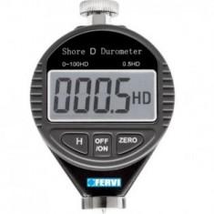 Durometru digital tip SHORE D, Fervi D011/D