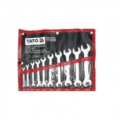 Set 10 chei fixe industriale 6-27 mm, Yato YT-0150