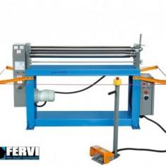 Masina electrica de roluit tabla 1.5mm, lungime 1300mm, Fervi 0285 - Masina de roluit