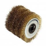 Perie de sarma din alama pentru masina de slefuit FarTools REX 120, 0.3mm