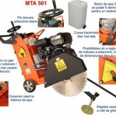 Masina taiat asfalt beton, 500mm, 14CP, Bisonte MTA501 - Motodebitator
